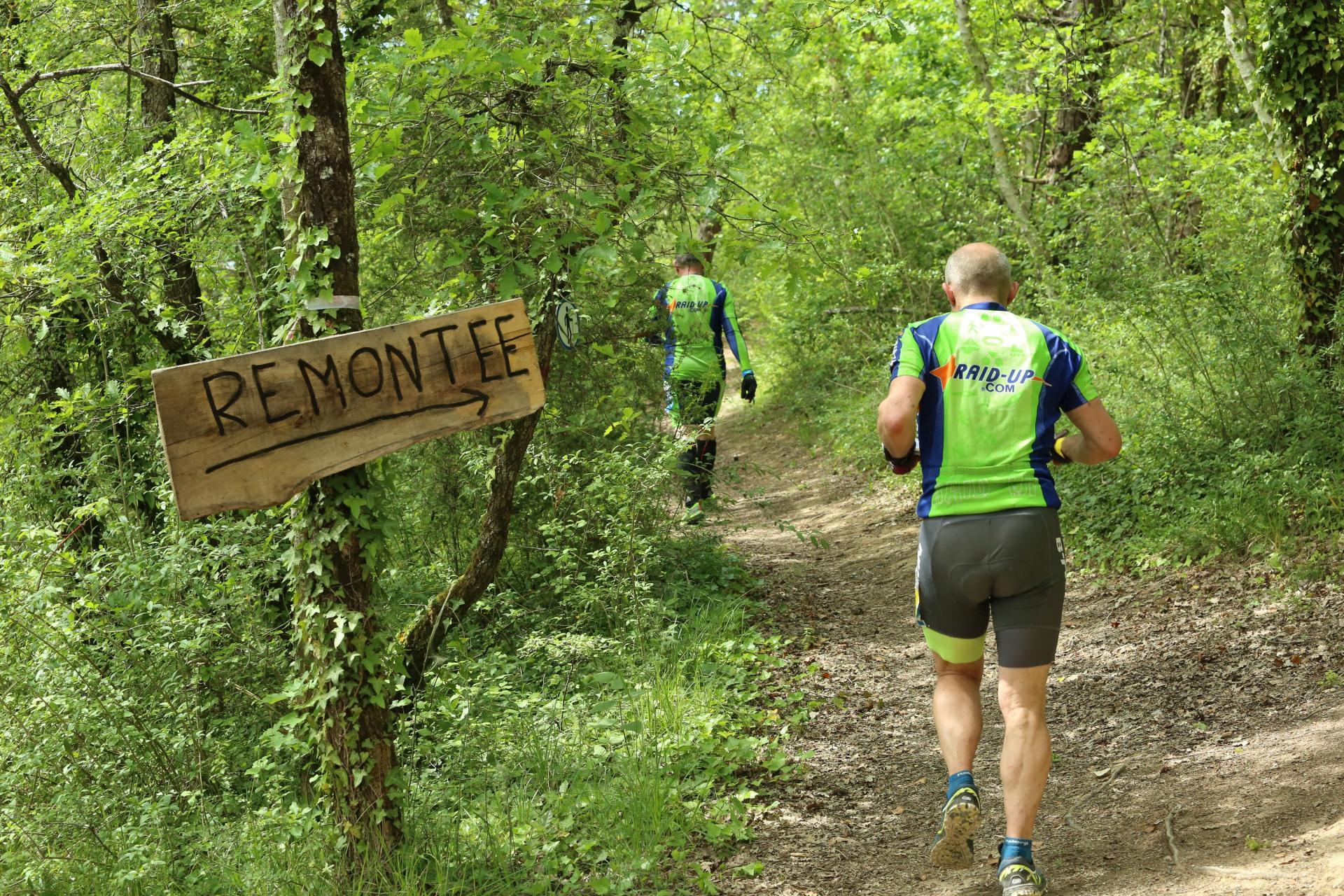 Corentin et Stéph' partent pour le trail
